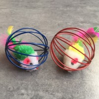 Mainan kucing bola rangkai tikus