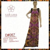 Maxi Dress-D067 purple