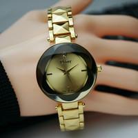Jam tangan wanita dior rantai gold model gambar Alexandre Christie