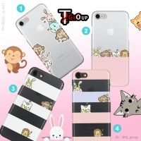 Cute Transparan Case Lenovo P1 Turbo, A7000, Vibe P1M, K5 Note dll