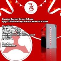 Komputer Spesial Kemerdekaan Spyro Coffeelake Quad Core 8100 GT 1050