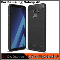 Case Samsung Galaxy A6 New Edition Casing Slim hp Cover A 6