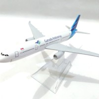 Pesawat diecast miniatur Garuda Indonesia Boeing 777-300ER