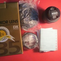 Lensa Fix Nikon 35mm f1.8 AF-S G afs Bekas