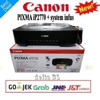 PRINTER CANON IP-2770 Dengan Infus Full Tinta Siap Pakai (NEW/BARU)