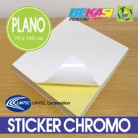 Sticker / Stiker Chromo Impor LINTEC Jepang Uk. Plano 70 x 108 cm