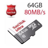 Micro SD SanDisk 64GB Ultra Class10   SDHC Memory Card Class 10 64 GB