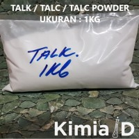 TALC / TALK / TALC POWDER / TALEK / TEPUNG RESIN / DEMPUL RESIN (1KG)