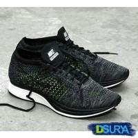 56acba240158c Sepatu Nike Air Flyknit Racer Premium 13 - Olahraga Sneaker Running