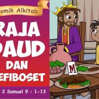 Komik Alkitab : Raja Daud dan Mefiboset