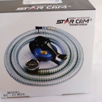 Star Cam SC-23.MSS Paket Regulator Dengan Selang Star Cam SC 23 MSS
