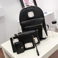 Tas Wanita Backpack 1 set 4in1 (BATAM KOTOK) 0302d9af6b
