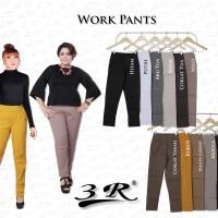 Celana Kerja/Kantor Panjang Work Pants 3R Bahan Twill Size XXL-3XL-4XL