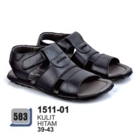 1511-01   Sandal Casual cocok untuk Lebaran Pria Branded Azzurra