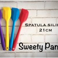 spatula silicon / spatula silikon kecil 21cm