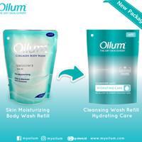 Jual Oilum Collagen Body Wash Skin Moisturizing & Brightening Scrub Pouch Murah