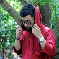 Gamis Kaos Pria | Kurta | Pakistan Model Hoodie warna MAROON