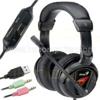 New Paket Headset pc gaming Genius HS-G500S Diskon