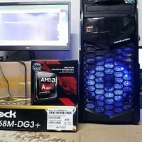 New CPU GAMING & PC GAMING RAKITAN AMD A8 GTA V LIBAS Berkualitas