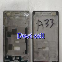 FRAME BAZEL TATAKAN LCD TULANG TENGAH HP OPPO A33 A33W NEO 7. ORI