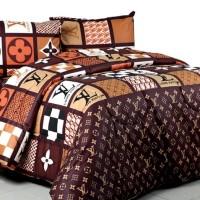 Bedcover Set Katun Jaxine Lv monochrome 160x200x20