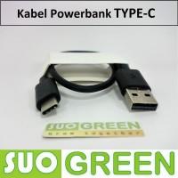 Harga 30cm kabel powerbank type tipe c bisa fast charging dan transfer | antitipu.com