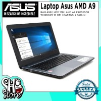 Laptop Asus Gaming AMD A9 Radeon R5 4GB RAM 1TB HDD Windows 10