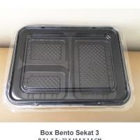box bento sekat 3/ lunch box bento/ bento/ mika bento