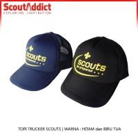 Topi Trucker Scouts Be Prepared
