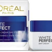 Loreal Krim Wajah, LOREAL WHITE PERFECT Day Cream SPF 17 PA++