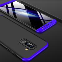 360 Hard Case Full Protection Depan Belakang Casing HP Samsung A6 Plus
