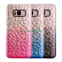 Softcase 4D Diamond Shape Cover Case Casing HP Samsung Galaxy S8 S 8
