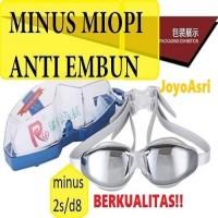 kacamata renang minus kaca mata renang minus MIOPI anti fog spray