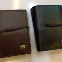 Dompet kartu / Card Holder karet Logo Braun Buffel