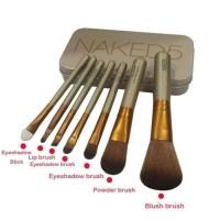 [NAKED5] Kuas Naked 5 Brush Kaleng Set 7Pcs Make Up