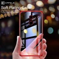 TPU PLATING Xiaomi Redmi Note 4 4X Transparan back cover soft case hp