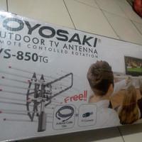 ANTENA TV REMOT CONTROL TOYOSAKI TYS-850TG