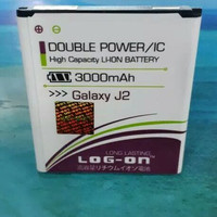 BATERAI SAMSUNG GALAXI J2 DOUBLE POWER IC LOG ON