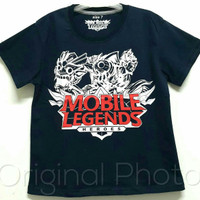 Baju kaos karakter anak laki-laki mobile legends 1-6