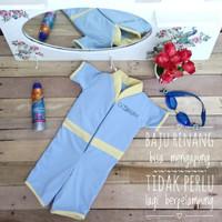goswim   usia 7-9 th   baju renang mengapung tanpa pelampung   size XL