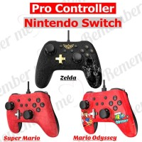 Jual Stick Pro Controller Switch Stik Kabel Nintendo Switch Murah