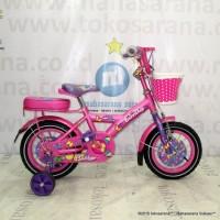 Sepeda Anak Family Flubber CTB 2-4 Tahun 12 Inci Steel Caliper/Tromol