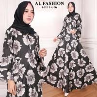 Gamis Syari Maxi Bella 06 / Baju Muslim/ Pakaian Muslim