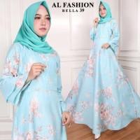 Gamis Syari Maxi Bella 39 / Baju Muslim/ Pakaian Muslim