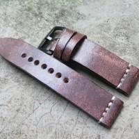 Jual 20mm, 22mm, 24mm Rustic Series Strap Tali Jam Tangan Handmade Kulit Murah