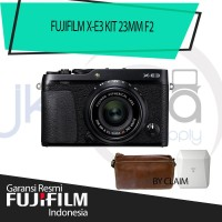 Harga fujifilm xe3 fuji x e3 fuji xe 3 mirrorless camera kit 23mm | Pembandingharga.com