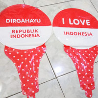 Balon HUT RI Tongkat (2 pcs)