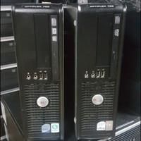 CPU PC KOMPUTER UNBK KANTOR dll DELL 745 755 CORE2DUO SLIM BEKAS ORI