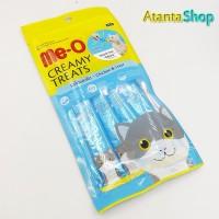 Me-O - Chicken & Liver Creamy Treats Cemilan Kucing meo isi 4 sachet