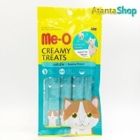 Me-O - Bonito Flavor Creamy Treats Cemilan Kucing meo isi 4 sachet